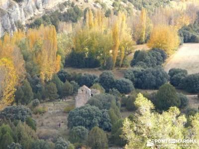 Hoces Río Riaza - Villa Ayllón; monasterios en navarra sendero gr 10